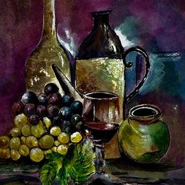 Grapes composition by Khalid Saeed