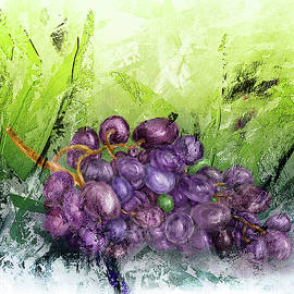 Grapes in the Garden by Mary Timman