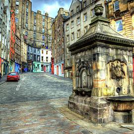 Grassmarket in Edinburgh by Paul Thompson