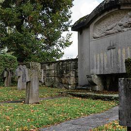 Graveyard Memorial by Robert VanDerWal