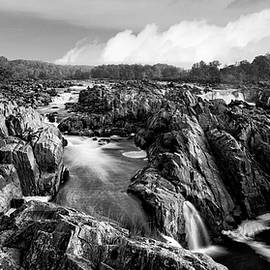 Gray Great Falls by Art Cole