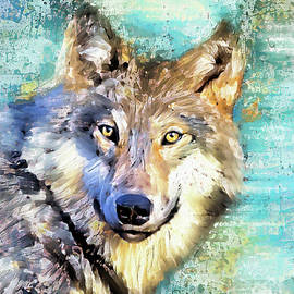 Gray Wolf by Tina LeCour