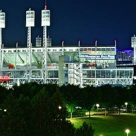 Great American Ballpark Home to the Reds by Frozen in Time Fine Art Photography