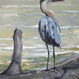 Great Blue Heron by Donna Tuten