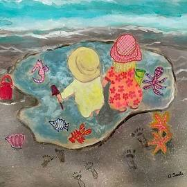 Great Day Cool Puddle by Anne Sands