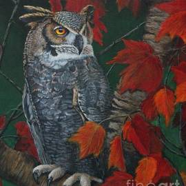 Great Horned Owl by Bob Williams