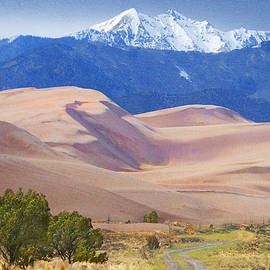 Great Sand Dunes National Park Colorado by R christopher Vest