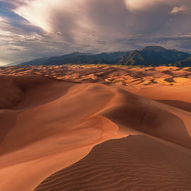Great Sand Dunes - sunset at High Dune by Murray Rudd