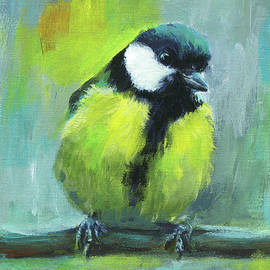 Great tit - Parus Major by Karen Kaspar