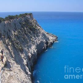 Greek Galazio Blue by Clay Cofer