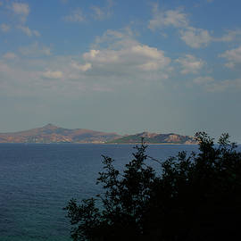 Greek Island View by Cassi Moghan