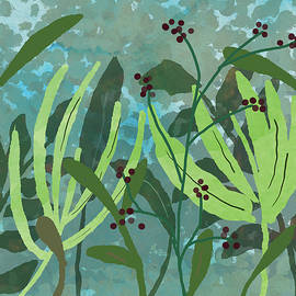 Green Garden by Nancy Merkle