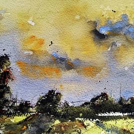Green Horizon by Suvarna Dheringe