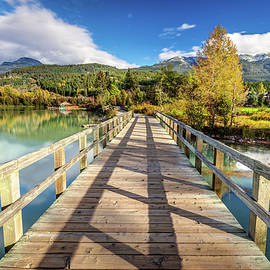 Green Lake Promenade in Whistler by Pierre Leclerc Photography