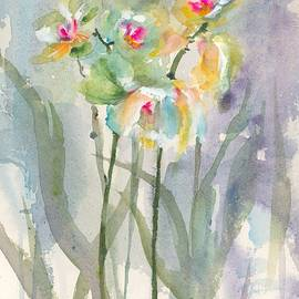 Green Orchid by Hiroko Stumpf