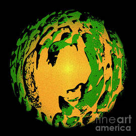 Green Shell Orange by Bumsable