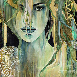 Green Tara by Jackie Gray