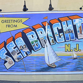 Greetings From Sea Bright, N. J. by Allen Beatty