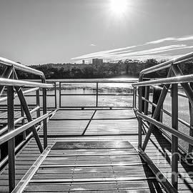 Grey Dock by Len Tauro