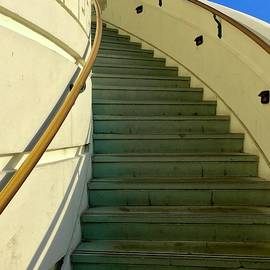 Griffith Observatory Stairs   by Joseph Schofield