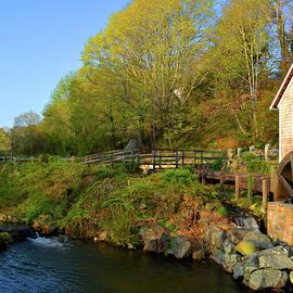 Brewster Grist Mill by Dianne Cowen
