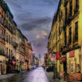 Grodzka Street, Krakow by Jerzy Czyz