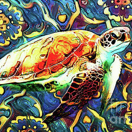 Groovy Turtle by Tina LeCour