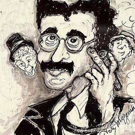 Groucho Marx And The Marx Brothers  by Geraldine Myszenski