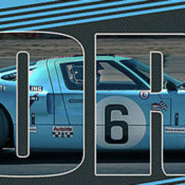 GT40 cutout by Darrell Foster
