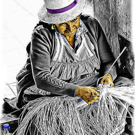 Gualaceo Weaver by Al Bourassa