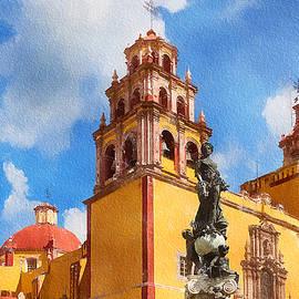 Guanajuato Basilica Mexico by Tatiana Travelways