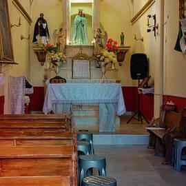 Guanajuato City Capilla de Nuestra Senora del Refugio by Bob Phillips