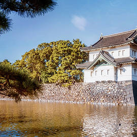 Guard Tower Imperial Palace Tokyo Japan II by Joan Carroll