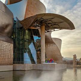 Guggenheim Museum Bilbao Spain by Joan Carroll