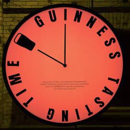 Guinness Clock by Victor Vega