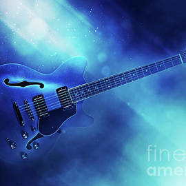 Guitar Blues by Ian Mitchell