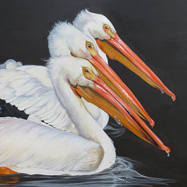 Gulf Of Mexico Trinity by Phyllis Beiser
