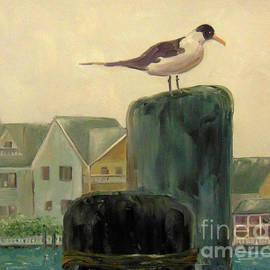 Gull on Watch by Rae Raisbeck