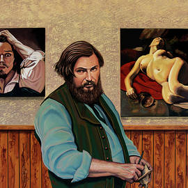 Gustave Courbet Painting by Paul Meijering