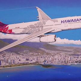 Hawaiian Airlines Airbus A330-200 Departing HNL ver 1.0 by Brian Roland
