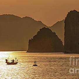 Ha Long Bay Awesome Vietnam  by Chuck Kuhn