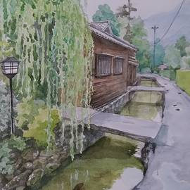 Hagi in Japan by Makiko Sugimoto
