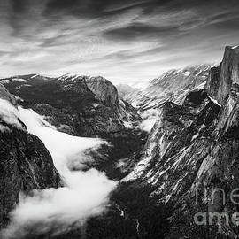Half Dome and Yosemite Valley, Yosemite National Park, California, USA by Neale And Judith Clark