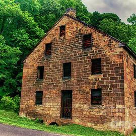 Hambleton Mill East Liverpool Ohio by Janice Pariza