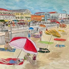 Hampton Beach by Anne Sands