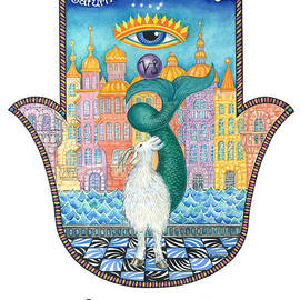 Hamsa for Capricorn by Nonna Mynatt