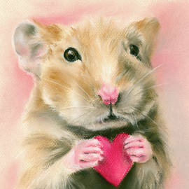 Hamster Valentine by MM Anderson