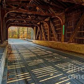 Hancock - Greenfield Covered Bridge  by Steve Brown