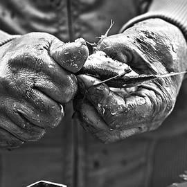 Fish hands by Al Fio Bonina