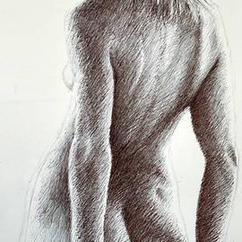 Hands Behind Her Back by Rick Hansen